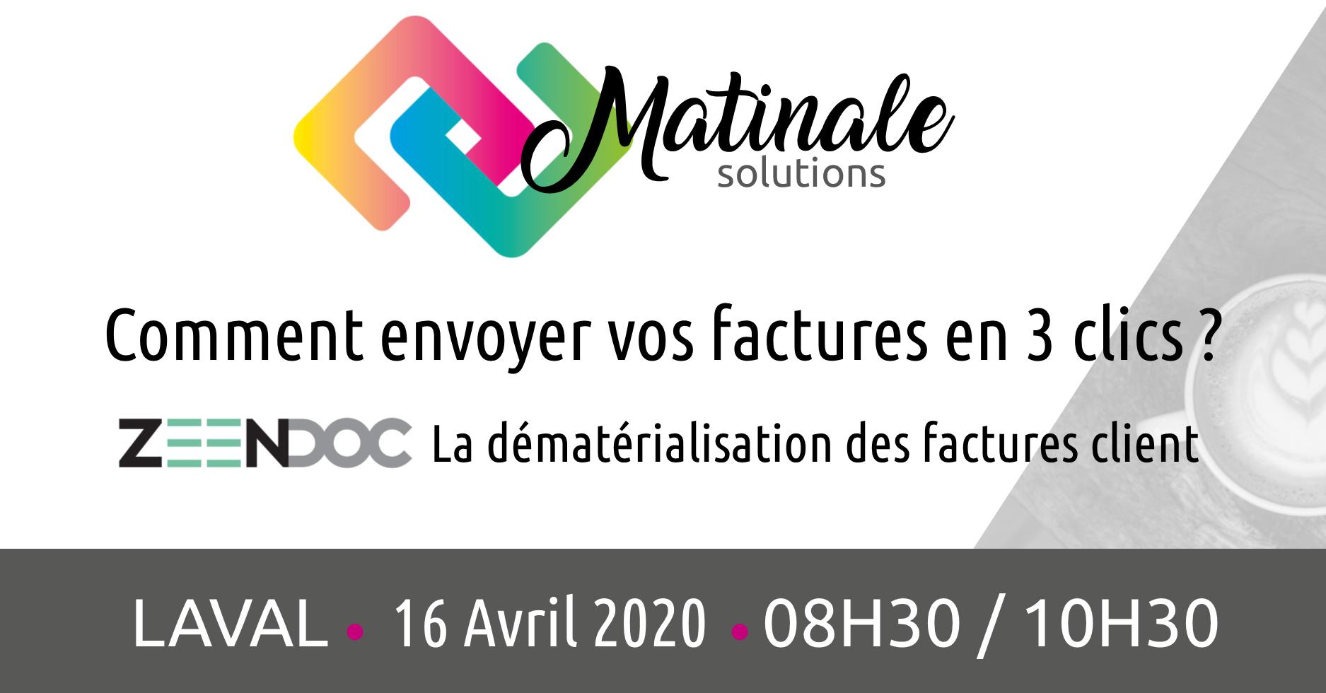 Groupe Touiller - Matinales Zeendoc - Laval